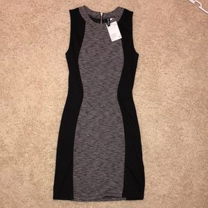 Divided (H&M) - Black&Grey Bodycon Dress